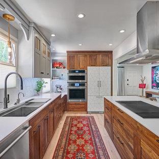 75 Beautiful Light Wood Floor Kitchen Pictures & Ideas - September .