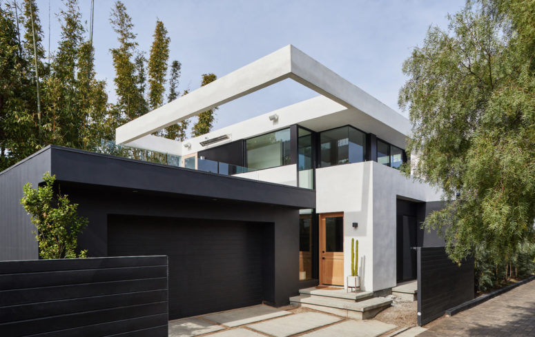 Contemporary And Stylish 1906 Home Addition - DigsDi