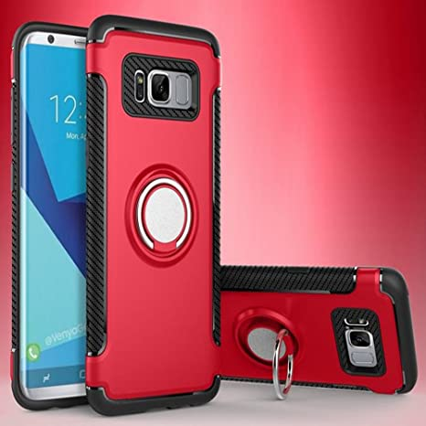 Amazon.com: Galaxy S7 Edge Magnetic Car Phone Stand Case .