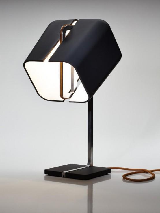 Stylish Aligned Lamp With A 360 Degree Rotation - DigsDi