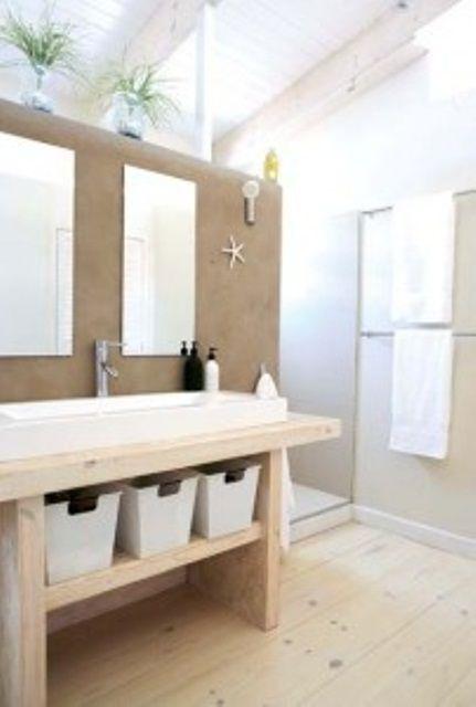 45 Stylish And Cozy Wooden Bathroom Designs | Badezimmer design .