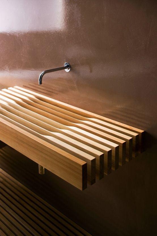 45 Stylish And Cozy Wooden Bathroom Designs | Wooden bathroom .