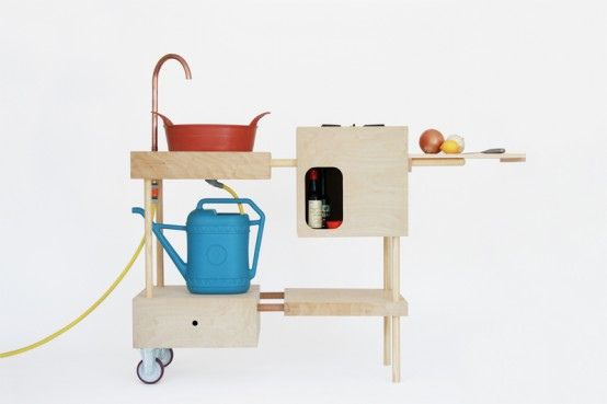 New Inspiration: Stylish and Practical Mobile Outdoor Kitchen That .