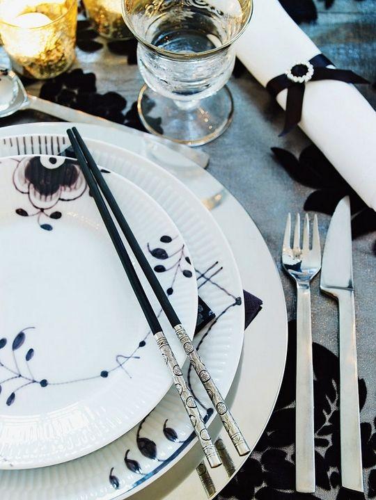10 Stylish Black And White Christmas Decor Ideas | Interior Design .