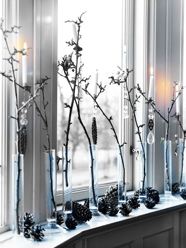 10 Stylish Black And White Christmas Décor Ideas | DigsDigs .