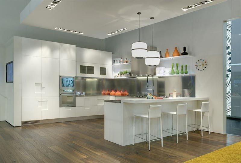 Minimalist Stainless Steel Kitchen Design from Ernestome