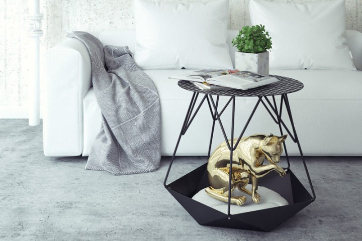 KRATER Side Table by Levantin Desi