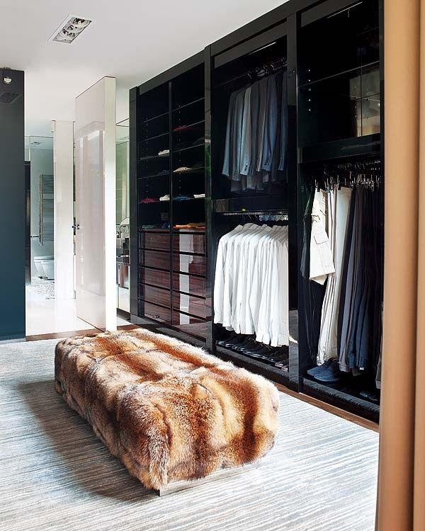43 Stylish Masculine Closet Designs | Conceptions de placard .