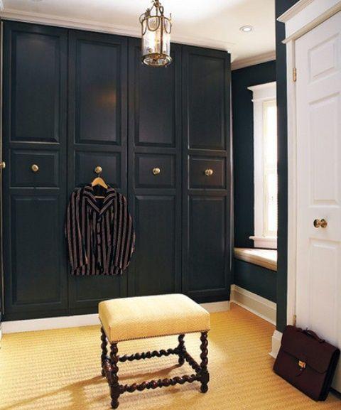 43 Stylish Masculine Closet Designs | DigsDigs | Ikea pax wardrobe .