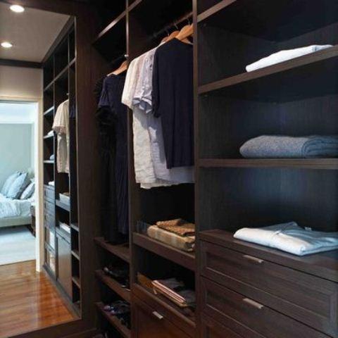 43 Stylish Masculine Closet Designs - DigsDi