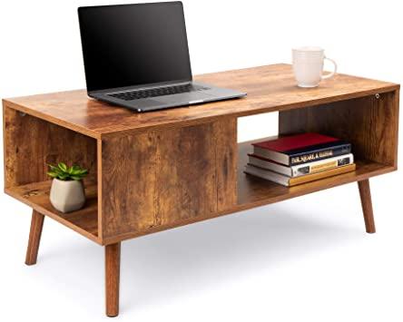 Amazon.com: Best Choice Products Wooden Mid-Century Modern Retro .