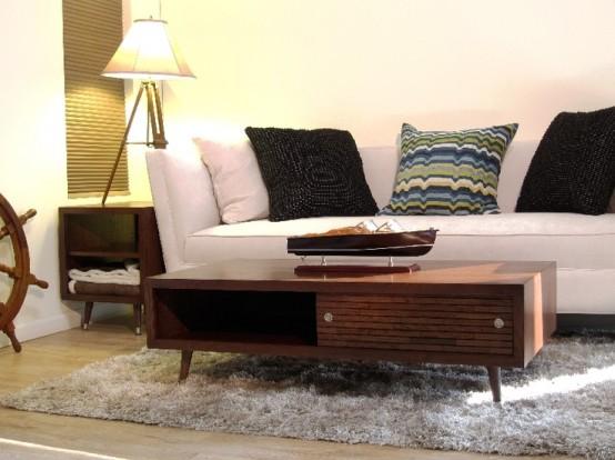 44 Stylish Mid-Century Modern Coffee Tables - DigsDi