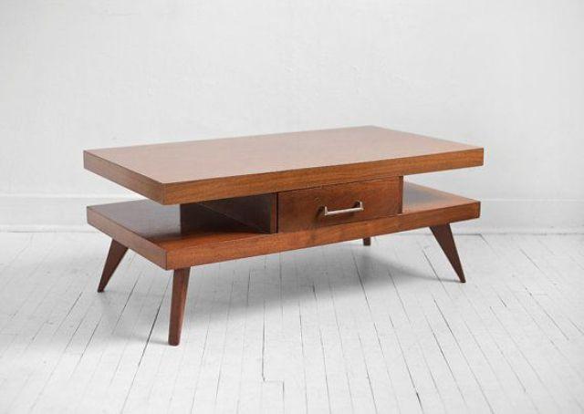 Style Of Mid Century Modern Coffee Table Photo | Belezaa .