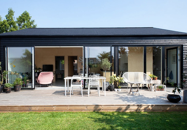 Prefab Sorte Hus proves affordable housing can be stylish in .