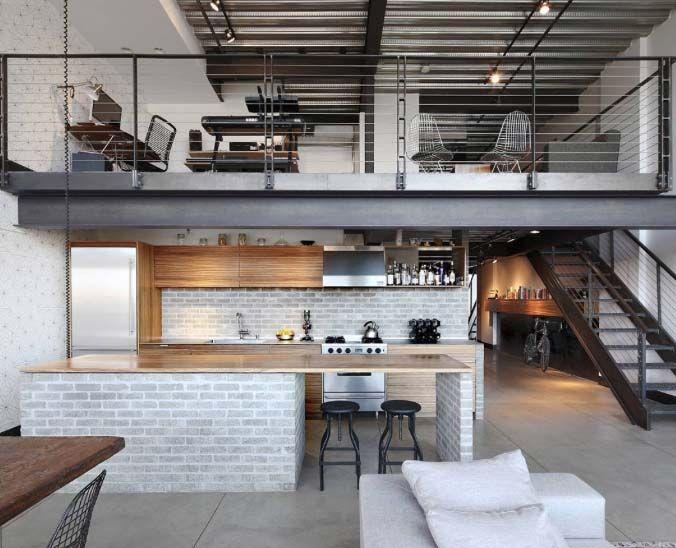 stylish living // urban loft // interior // home decor // luxury .
