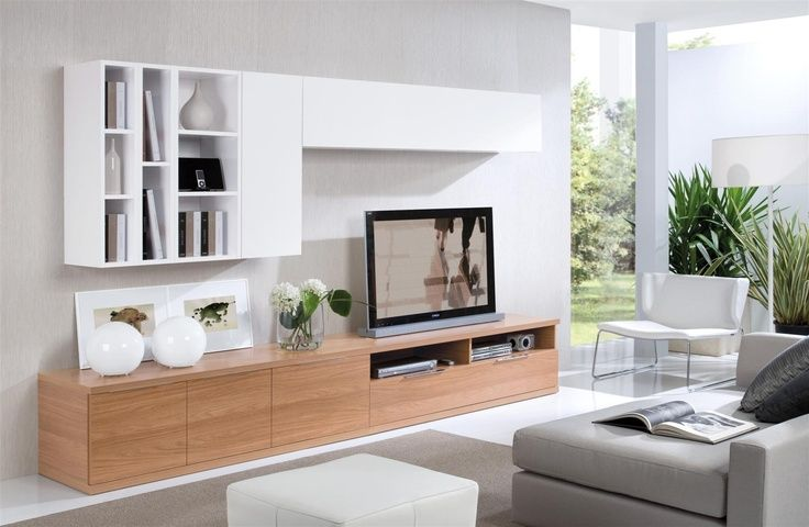 Stylish Modern Wall Units For Effective Storage | Living room tv .
