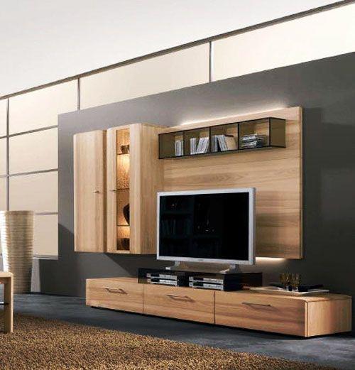 32 Stylish Modern Wall Units For Effective Storage | Modern tv .
