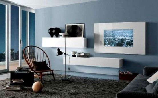 32 Stylish Modern Wall Units For Effective Storage | Contemporary .