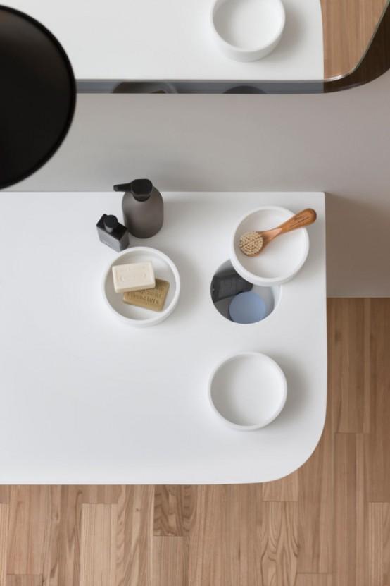 Stylish Modular Esperanto Bathroom Furniture Collection - DigsDi