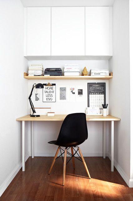 37 Stylish, Super Minimalist Home Office Designs - DigsDigs .