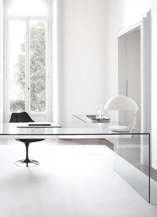37 Stylish, Super Minimalist Home Office Designs | Minimalism .