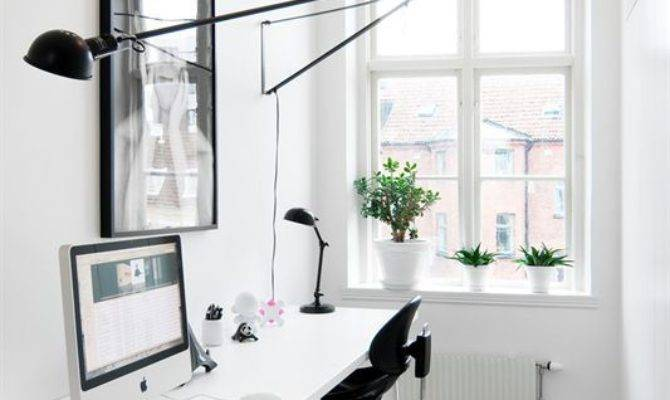 Stylish Super Minimalist Home Office Designs Digsdigs - House .