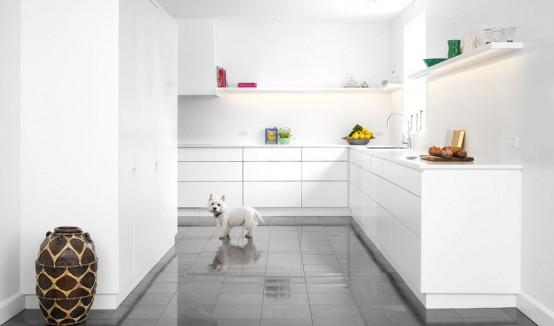 13 Stylish White Kitchen Designs With Scandinavian Touches - DigsDi