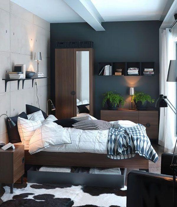 22 Stylish Small Bedroom Design Ideas | Freshome.com | Small .