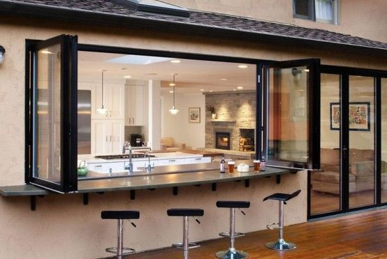 Summer Must: 35 Adorable Kitchens Open To Outdoors   Indoor .