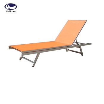 Garden Folding Aluminum Outdoor Lounge Chair Lightweight Portable .