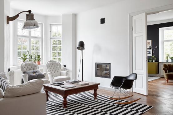 Relaxed Mid-Century Modern Swedish Villa - DigsDi