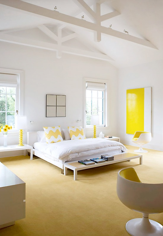 Sunny Yellow Accents In Bedrooms – 49 Stylish Ideas - DigsDi