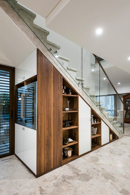 16 Super Functional Ideas How To Use The Space Under The Stairs .