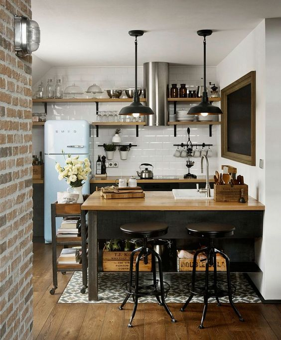 17 Super Functional Ideas For Decorating Small Kitch