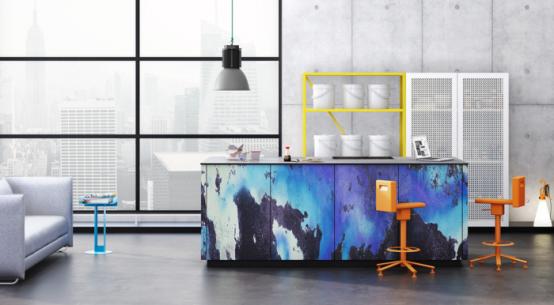 Super Modern Patterned Loft Kitchen Designs By Neo - DigsDi