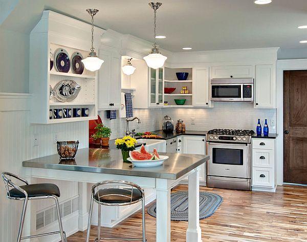 Loft Super White 1/2x2 Brick Pattern   Kitchen remodel layout .