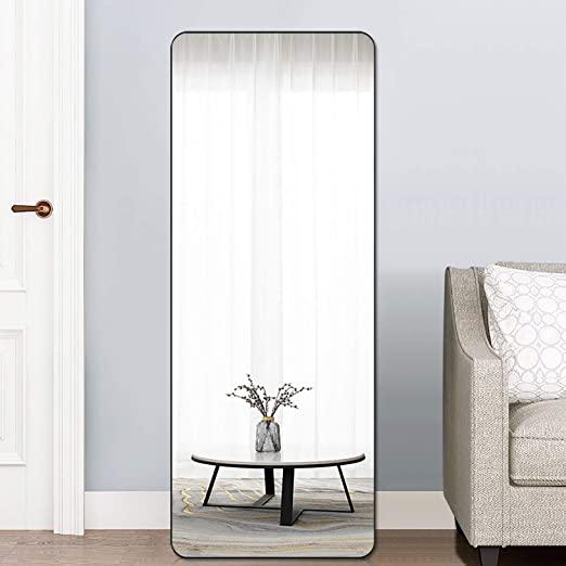 Amazon.com: PexFix Full Length Mirror, Modern Bedroom Floor Mirror .