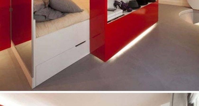Super Practical Hidden Beds Save Space Digsdigs - Barb Hom