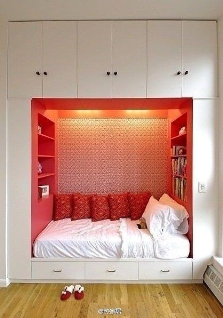 50 Super Practical Hidden Beds To Save The Space | Phòng ngủ nhỏ .