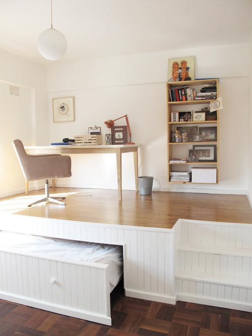 50 Super Practical Hidden Beds To Save The Space - DigsDi
