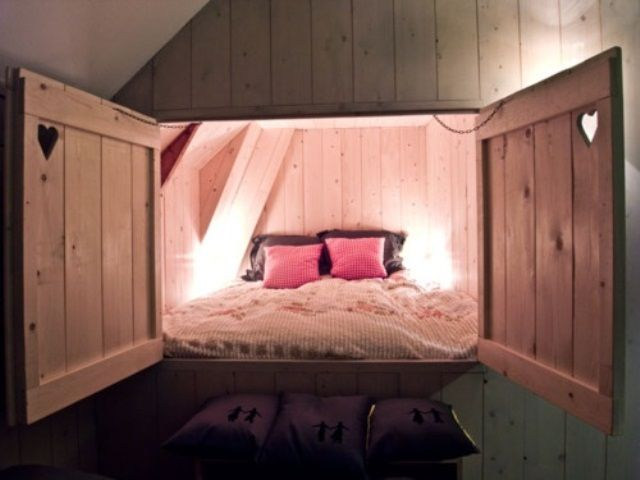 Awesome Hidden Beds To Save The Space - DigsDigs | Home, Barn .