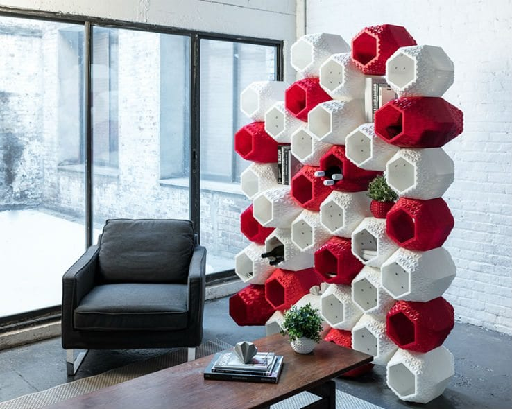 SuperMod: 3D-Printed Wall Storage - IPPIN