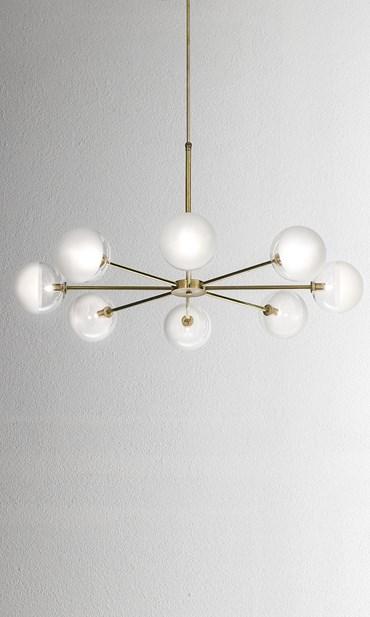 Molecola Suspension Lamp (275.06) from Il Fanale - Eames Lighti