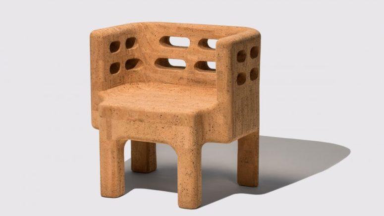 Sobreiro Furniture Collection Made Of Cork - DigsDi