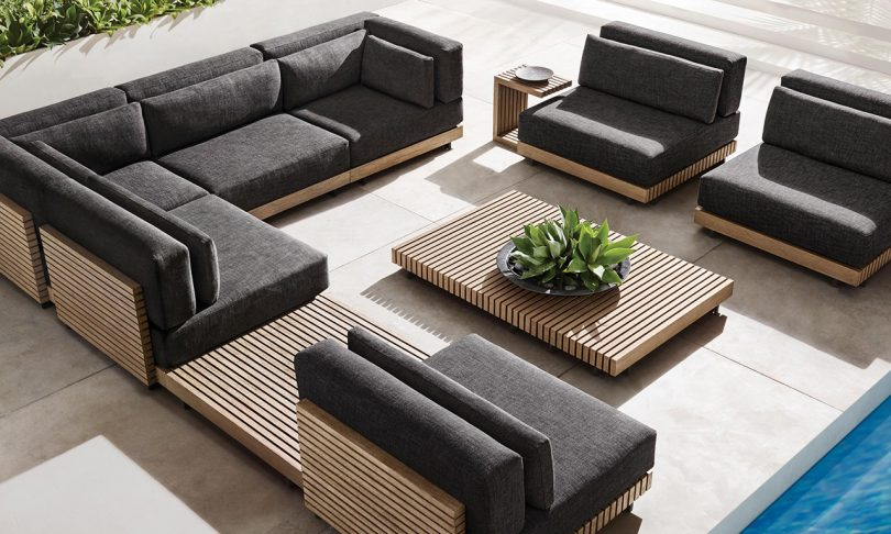 The Caicos Outdoor Furniture Collection Is Bold + Sustainab