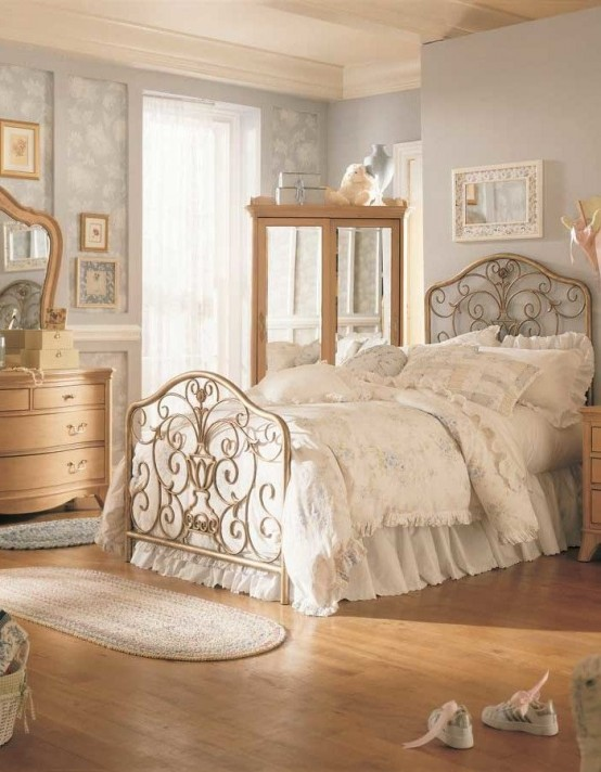 31 Sweet Vintage Bedroom Décor Ideas To Get Inspired - DigsDi