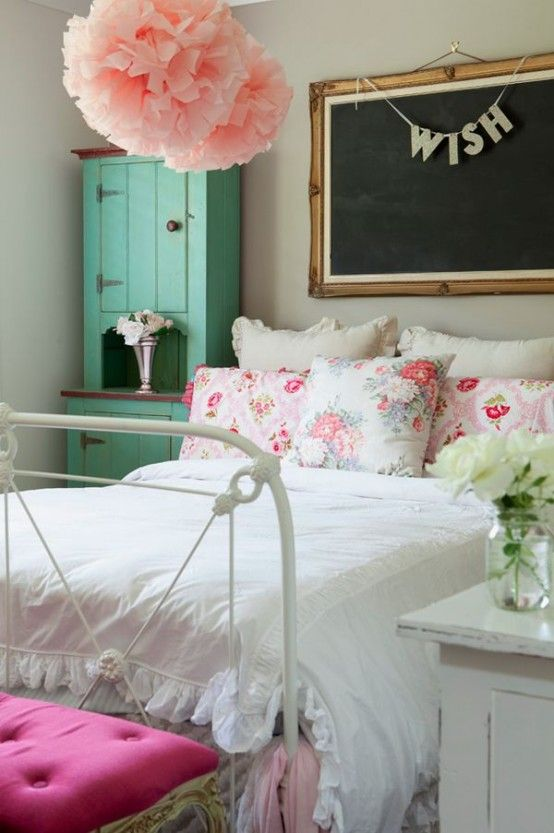 31 Sweet Vintage Bedroom Décor Ideas To Get Inspired   Bedroom .