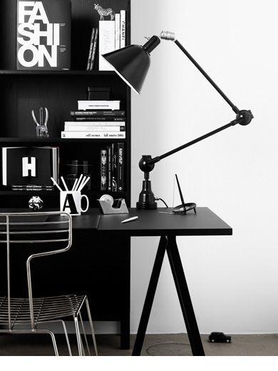 Table light #workspace study room desk furniture, home office .