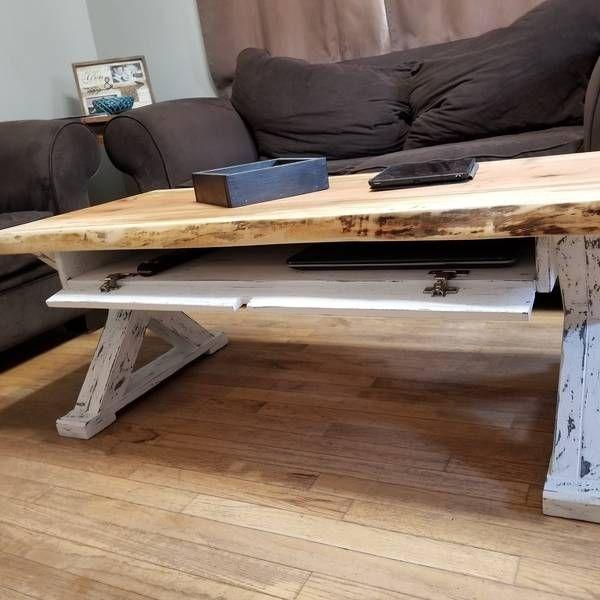 RYOBI NATION - Coffee table with hidden drawer | Diy coffee table .