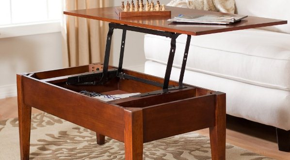 6 Step by Step Tutorials on DIY Coffee Tables with Hidden Storage .